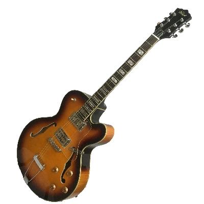 Alden-Dorchester 6S Semi Acoustic Guitar V.Sunburst thumbnail