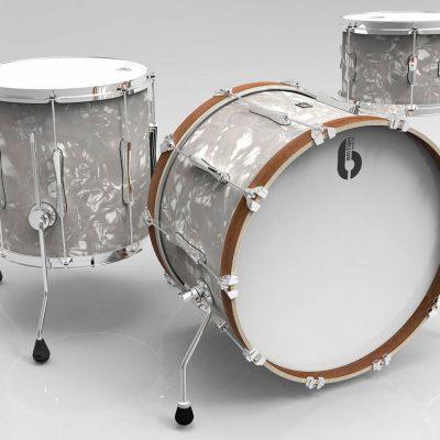 British Drum CO. Lounge Club 3 piece