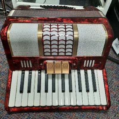 Galotta 48 Bass Accordion RED