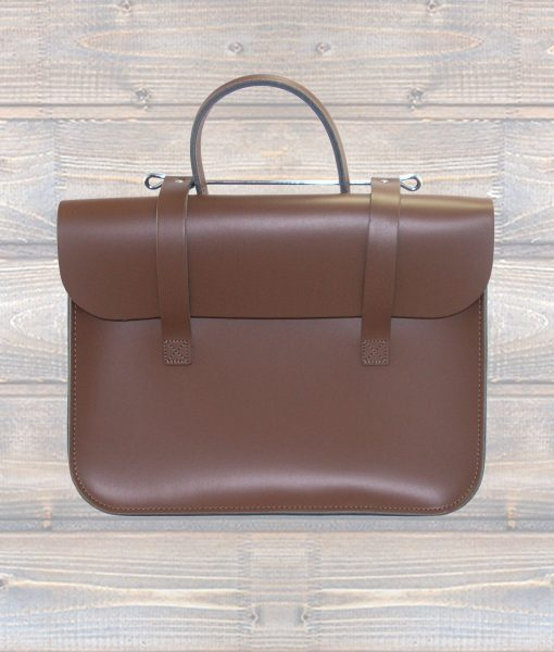 Leather Music Case – Brown