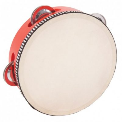PP World Tambourine - 15cm Red