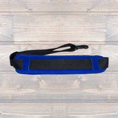 Padded Saxophone Strap – Blue