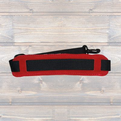 Padded Saxophone Strap – Red