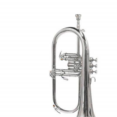 Stewart Ellis Pro Series Flugel Horn - Silver Plated
