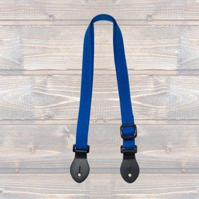 Ukulele Webbing Strap – Blue